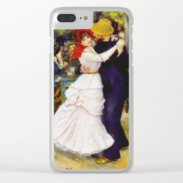 Auguste Renoir - Dance At Bougival Clear iPhone Case