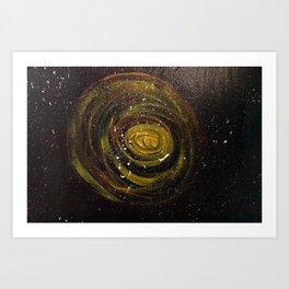 My Galaxy (Mural, No. 10) Art Print