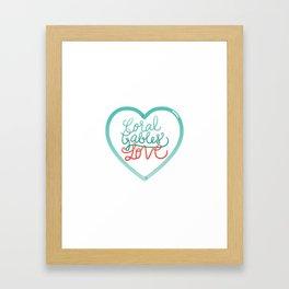 Coral Gables Love Framed Art Print