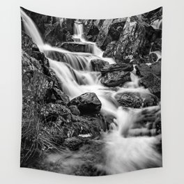 Winter Rapids Wall Tapestry