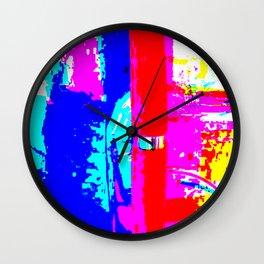 Pink Kazoo Wall Clock