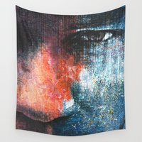 returns Wall Tapestries featuring Magic People 3 by Fernando Vieira