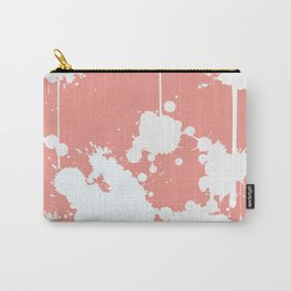 Abstract paint splashes Carry-All Pouch