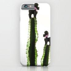 Poodle cacti iPhone 6s Slim Case
