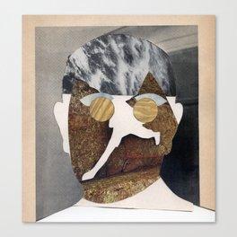 Dwight D - Vintage Collage Canvas Print