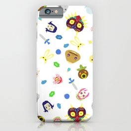 legend of mask iPhone Case
