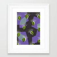 shell Framed Art Prints featuring Shell by [Oxz]