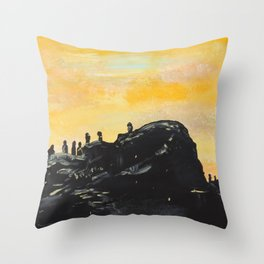 Trench Throw Pillow