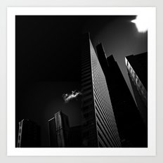 the black building theory - part two Art Print