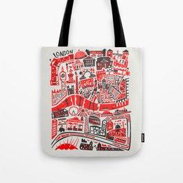 London Map Tote Bag