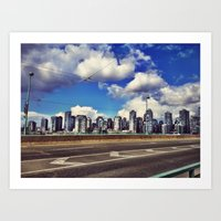 Cambie Art Print