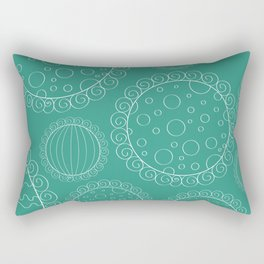 Dainty Sweets Pattern Print Rectangular Pillow