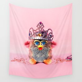 Furby Princess Wall Tapestry