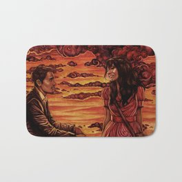 Our Sunset Bath Mat