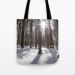 Yellowstone National Park - Lodgepole Forest 2 Tote Bag