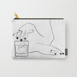 Whiskey Woman Carry-All Pouch