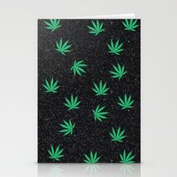 weed Stationery Cards featuring Weed by jajoão