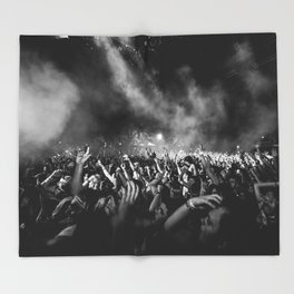 The Sound of Art Throw Blanket