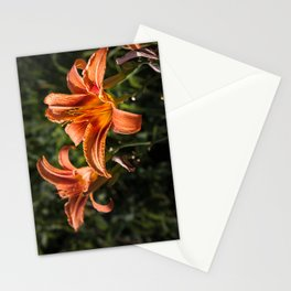 Orange Yellow Fire Lily Stationery Cards