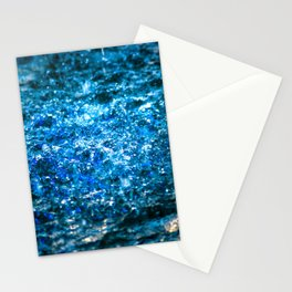 Water Color - Blue Stationery Cards