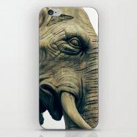 bastille iPhone & iPod Skins featuring L'éléphant de la Bastille by The Last Sparrow