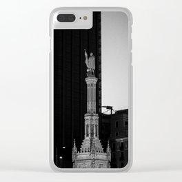 El descubridor Clear iPhone Case