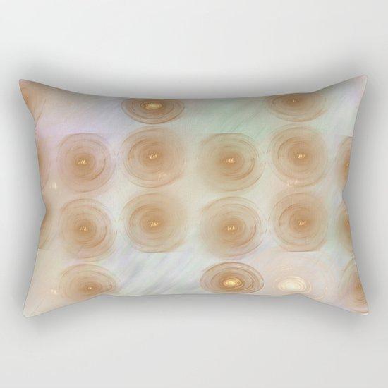 Abstract data crunching Rectangular Pillow