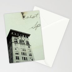 Crest Hotel Stationery Cards
