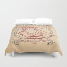 Champion of the Jungle Duvet Cover
