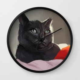 Parker In The Light Wall Clock