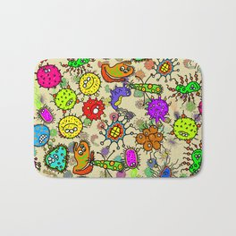 Doodle Germs Bath Mat