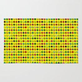 Multi-coloured Pills Pattern Rug