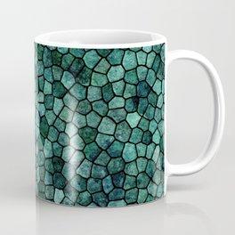 Oceanic Mosaic Crust Texture Abstract Pattern Coffee Mug