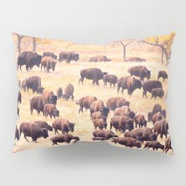 Buffalo Roundup at Custer State Park Pillow Sham