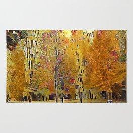 Klimt Trees Rug