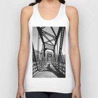 bridge Tank Tops featuring Bridge by Danielle Podeszek