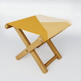 Mustard Tones Folding Stool