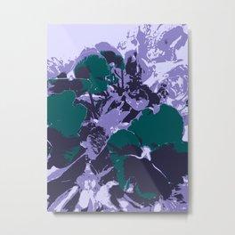 Floral spill Metal Print