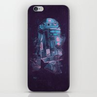 r2d2 iPhone & iPod Skins featuring R2D2 by Sitchko Igor