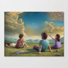 Cricket dreamer Canvas Print