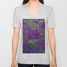 Cornflower Jungle Unisex V-Neck
