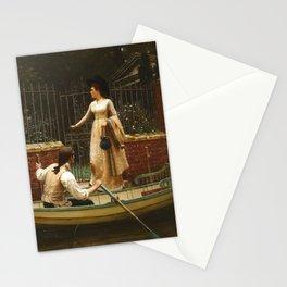 "Edmund Blair Leighton ""The Elopement"" Stationery Cards"