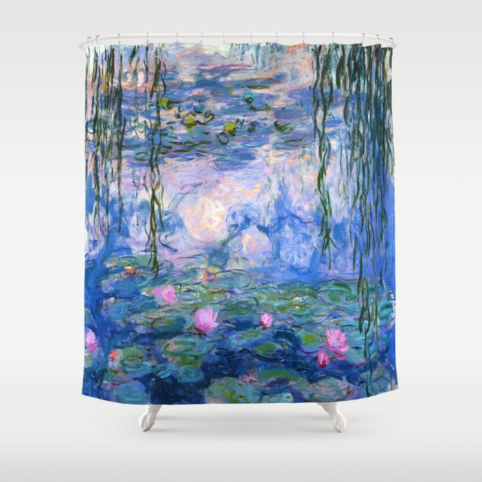 Water Lilies Monet Shower Curtain
