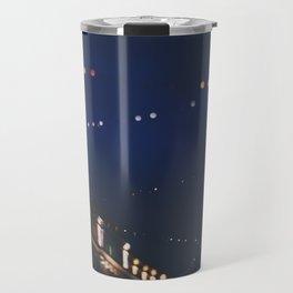 christmas lights ...  Travel Mug