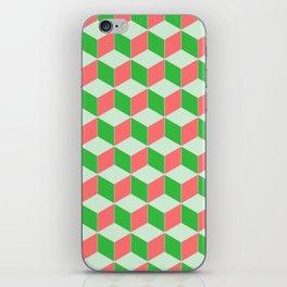 Christmas Escher Print iPhone Skin