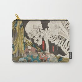 Takiyasha the Witch and the Skeleton Spectre, Utagawa Kuniyoshi, 1844 Carry-All Pouch