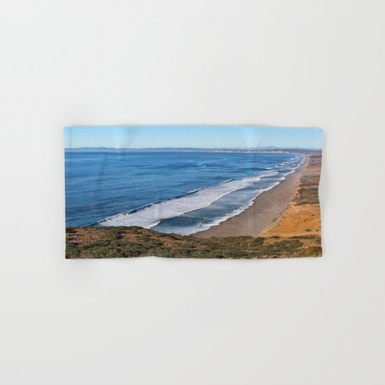 Point Reyes Coastal Scenery Hand & Bath Towel
