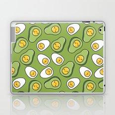 Egg and avocado Laptop & iPad Skin