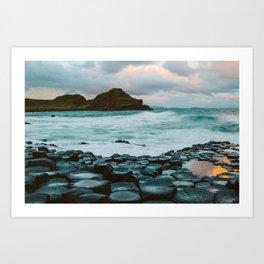 Giant's Causeway at Sunrise Art Print