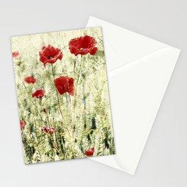 PoppyArt 2 Stationery Cards